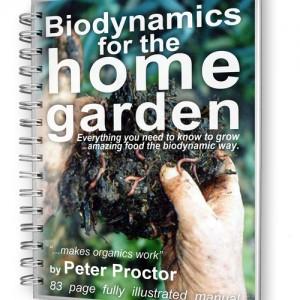 Biodynamics for the home garden ebook