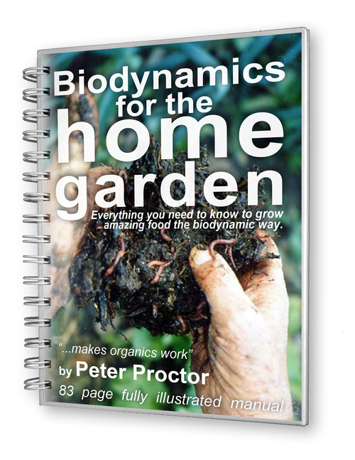 Biodynamics for the home garden ebook